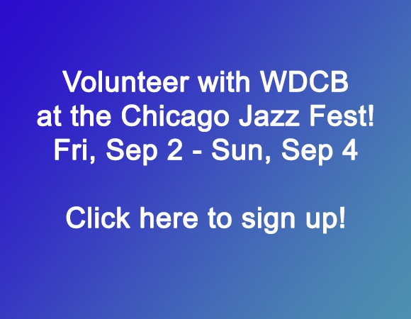 Chicago Jazz Fest 2016 - Volunteers
