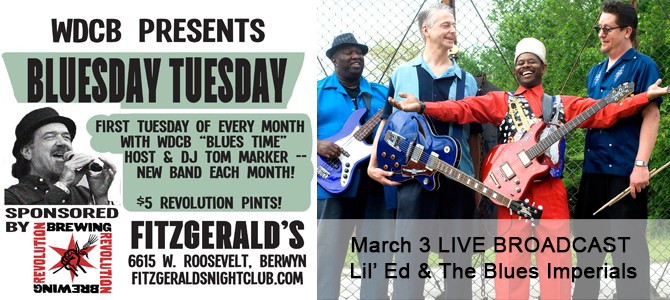 BluesDay Tuesday - March 2020