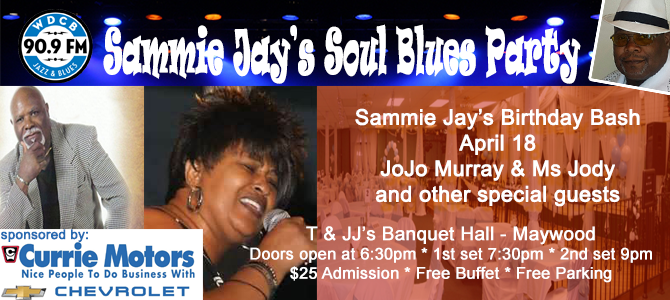 Sammie Blues Party - April 2018